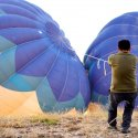 Preparing The Balloon