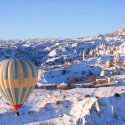 Hot Air Ballooning In Winter