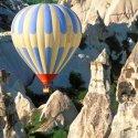 Hot Air Ballooning Over The Fairy Chimneys